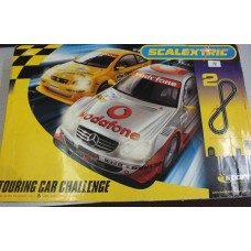 BOXED SCALEXTRIC TOURING CAR CHALLENGE SET