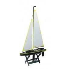 Bateau Voilier en bois, Mini Maxi 60 Carbone Edition Rc Équipage
