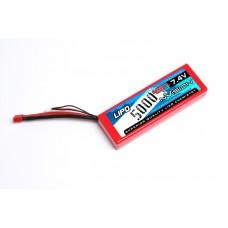 Batterie Li-Po 5000 mAh 45C 7.4v 2s Nvision