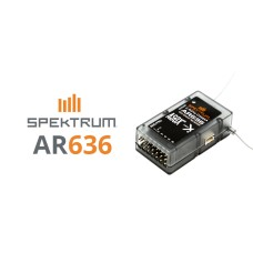 Récepteur AR636 AS3X Spektrum