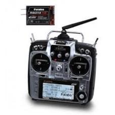 Radio 10CG FASST 2.4 GHz Futaba