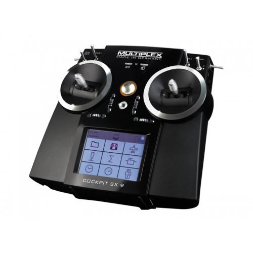 radio cockpit sx 9 multiplex. Black Bedroom Furniture Sets. Home Design Ideas