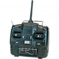 Radio MX-10 2.4GHz SJ HOTT Graupner