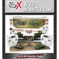 Tanks Coffret avec 2 tanks 1/72 Sherman /Type 97 VS Tank