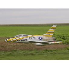 Avion Jet F100 SUper Sabre ARF FlyFly Hobby