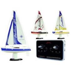 Joysway Caribbean RTR1/46 scale footy sailing yacht 27.195MHz