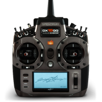 Radio DX18QQ spektrum Quiqui Somenzini