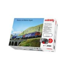 Coffret de démarrage numérique H0 train de marchandises suisse SBB Märklin 29484