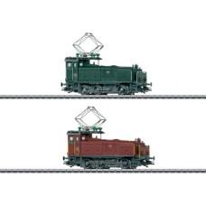 Locomotive de Manœuvre Coffret Double série Ee 3/3 SBB/CFF/FFS