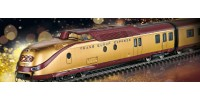 Coffret train Autorail Diesel à sept pièces VT 11.5 de la TEE édition OR   HO Marklin
