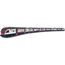 Coffret Train Régional CFF deux étages AC HO Dosto  Digital Liliput