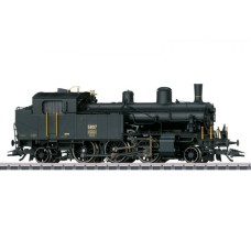 Locomotive à Vapeur HO AC Serie Eb 3/5 Habersack
