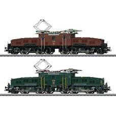 Coffret Deux Locomotives Crocodile Serie Ce 6/8  II HO Digital Sound Märklin