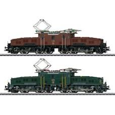 Coffret Deux Locomotives Crocodile Serie Ce 6/8  II HO Digital Sound Märklin