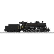 """Locomotive à vapeur avec tender séparé, série C 5/6 """"Elefant"""" HO Märklin"""