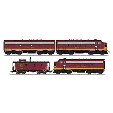 Coffret train  SOO Line General Motors EMD F7 HO digital Märklin