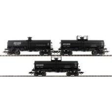 Coffret Wagons avec 3 Tank Cars HO Ep III Märklin
