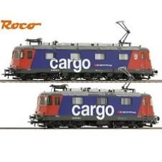 Locomotive Cargo SBB Re 10/10 HO AC Digital Sound  Roco