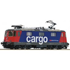 Locomotive Cargo CFF Re 421 387-2 HO AC Digital Sound Roco