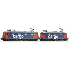 Locomotive double SBB Cargo  Re 10/10 HO AC Roco