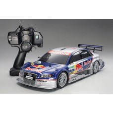 Voiture Audi A4 DTM 2005 à essence 1/10 RTR Tamiya