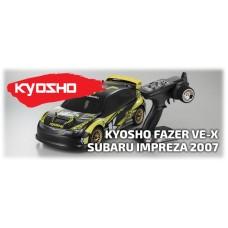 Voiture Fazer VE-X Subaru Impreza KX2 2007 RTR Kyosho