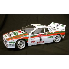Voiture Lancia 037 RRF rally  1/10 ITALtrading